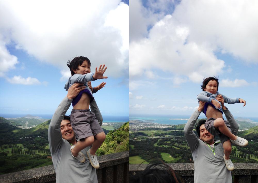 Mike and Yeonhee's nephew, Hamin.