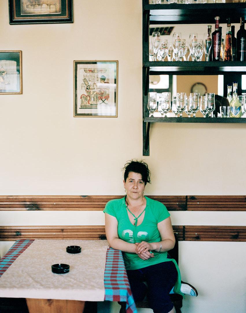 Ameida, cafe owner.