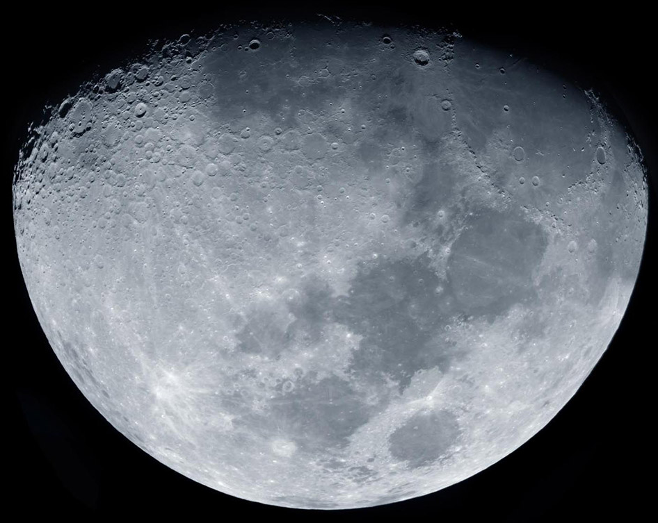 La Lune 2  by Christian Chaize | Digital C-Print in Lightbox