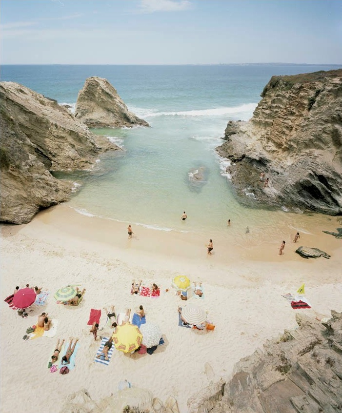 Praia Piquinia 21/08/10 14h04  by Christian Chaize | Digital C-Print