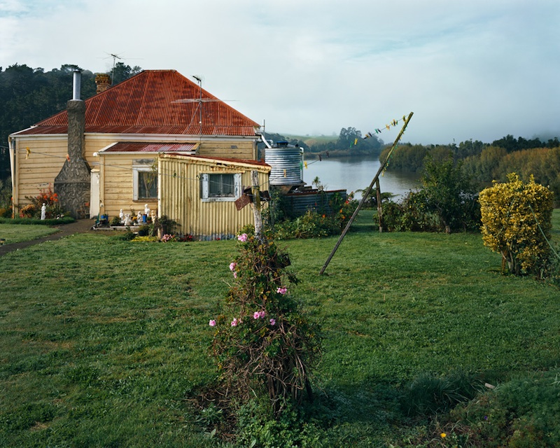 Glad Lapwood's House, Tuakau, 2007 by Derek Henderson | Digital C-Print