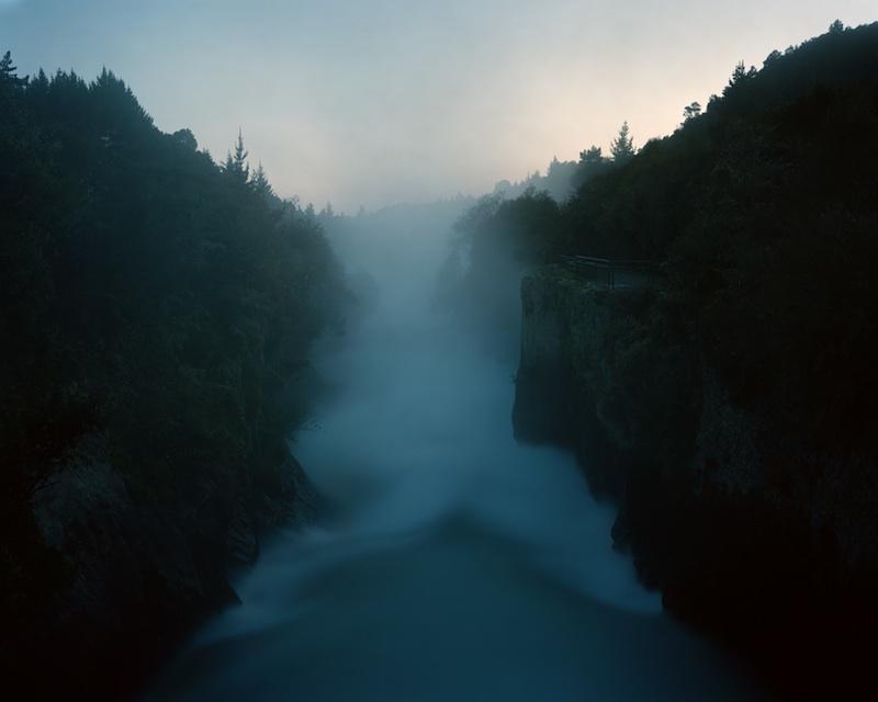 Huka Falls, 2007 by Derek Henderson | Digital C-Print