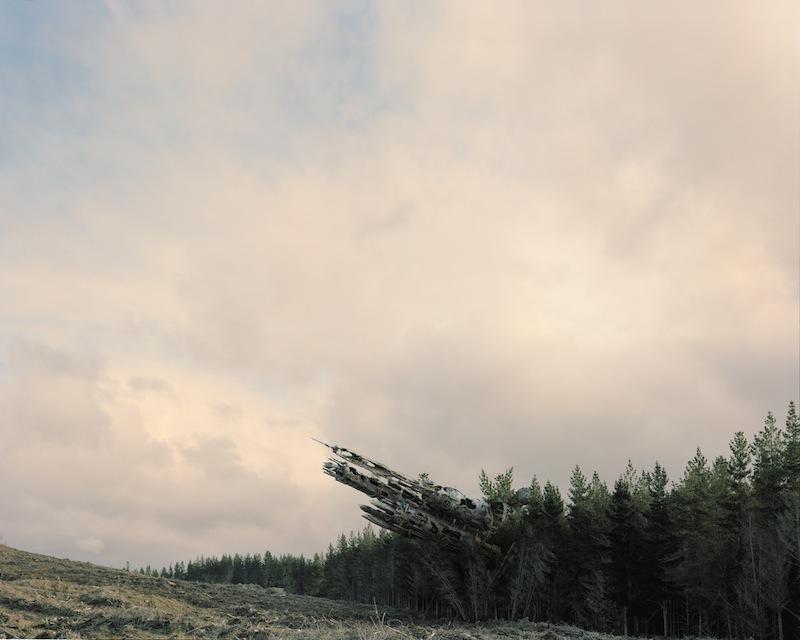 Forest Spaceship by Derek Henderson | Digital C-Print