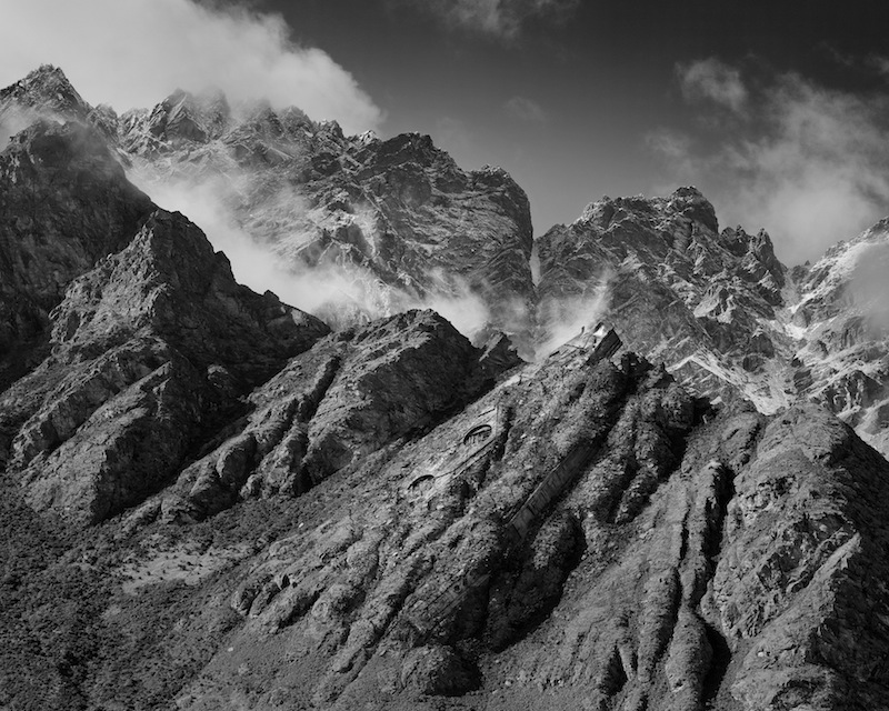 Mountains Spaceship by Derek Henderson | Digital C-Print