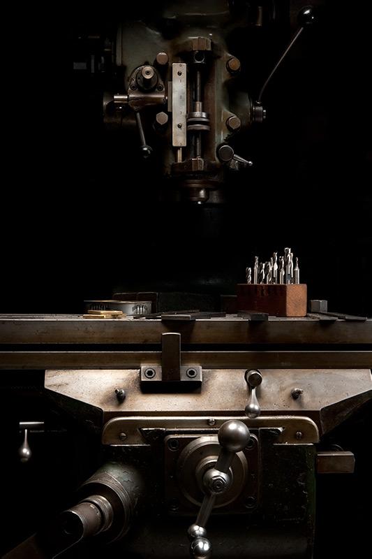 Bridgeport Vertical Milling Machine by Joseph Holmes | Archival Pigment Print