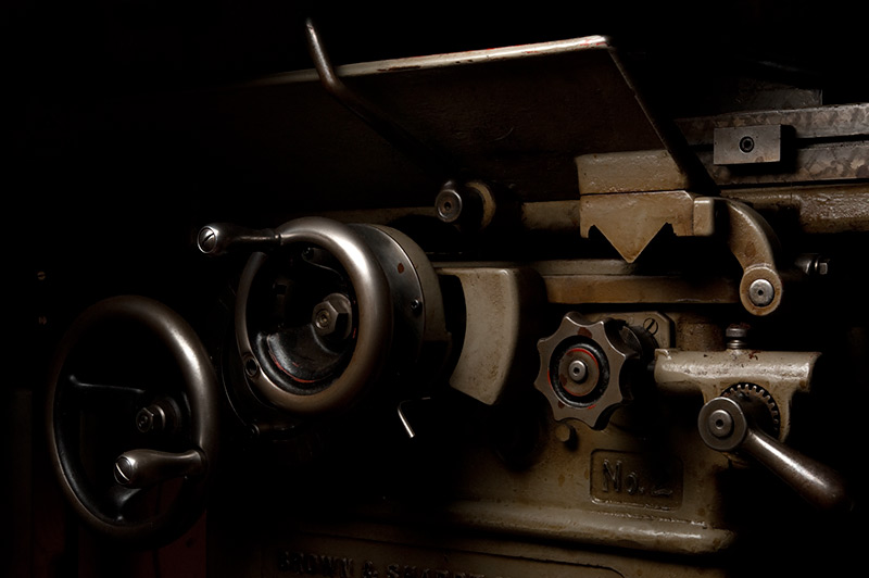 Brown and Sharpe No. 2 Surface Grinder by Joseph Holmes | Archival Pigment Print