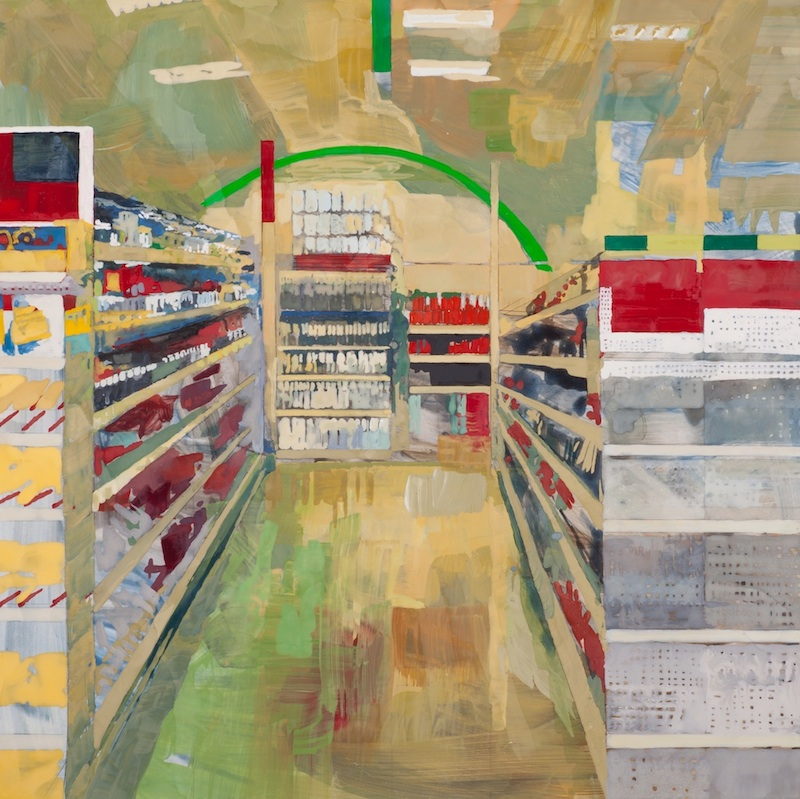 Reordering the Senses by Michelle Muldrow | Casein on clay panel