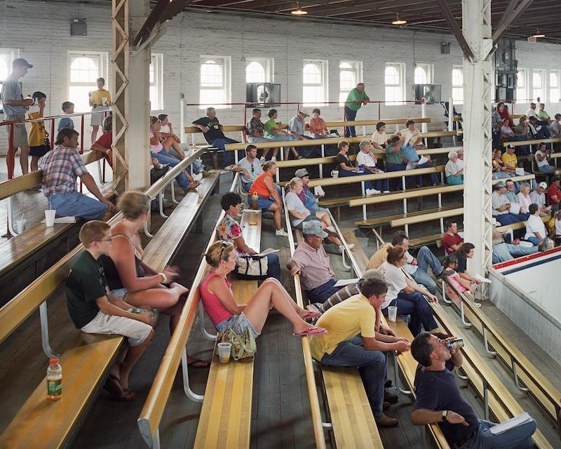Cattle Show, Missouri State Fair, Sedalia, Missouri 2006 byMike Sinclair  Archival Pigment Print