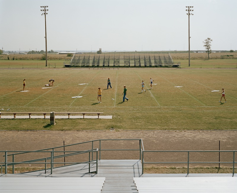 Football Field, Central Illinois, 1981 byMike Sinclair  Archival Pigment Print