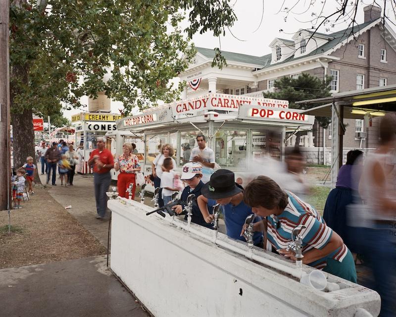 Water Fountain, Missouri State Fair, Sedalia, Missouri 1986 byMike Sinclair  Archival Pigment Print