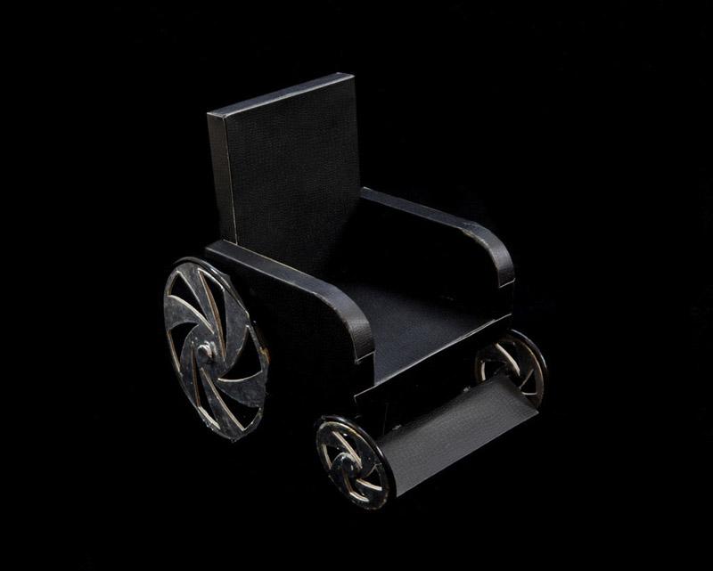 Wheelchair  byKurt Tong| Digital C-Print