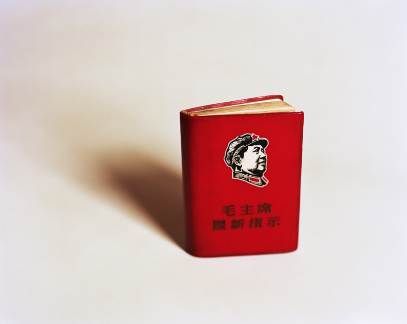 Mao's Little Red Book byKurt Tong| Digital C-Print