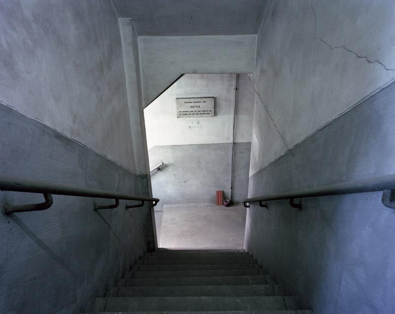 Factory Stairwell byKurt Tong| Digital C-Print