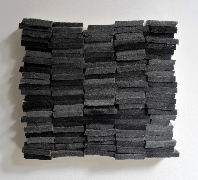Untitled by Devin Rutz  Felt and Ink