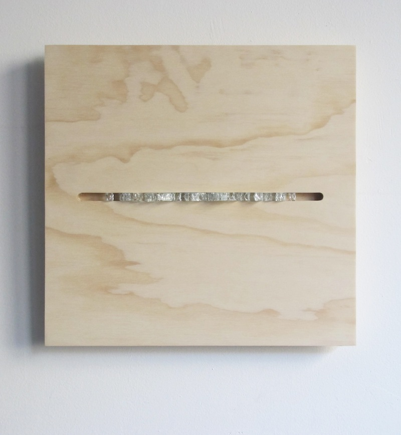 Untitled by Devin Rutz  Glass and Wood