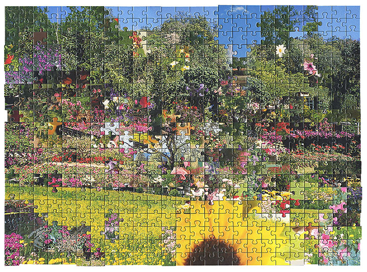 Puzzle #6 by Kent Rogowski | Puzzle Assemblage and Digital C-Print
