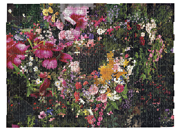Puzzle #5 by Kent Rogowski | Puzzle Assemblage and Digital C-Print