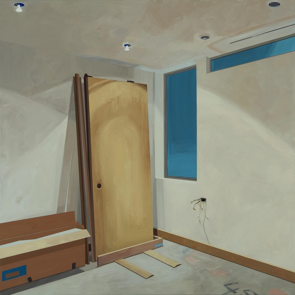 Egress  by Sarah McKenzie | Acrylic on Canvas
