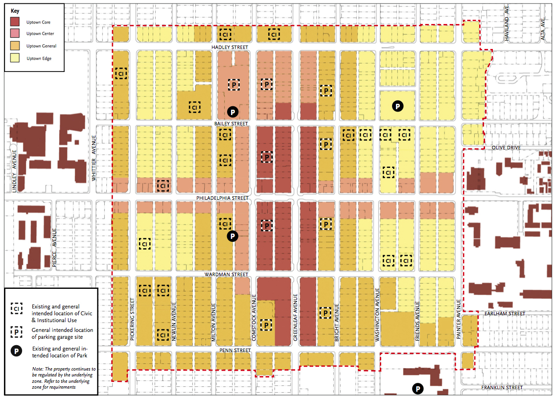 Uptown Whittier Specific Plan, Whittier