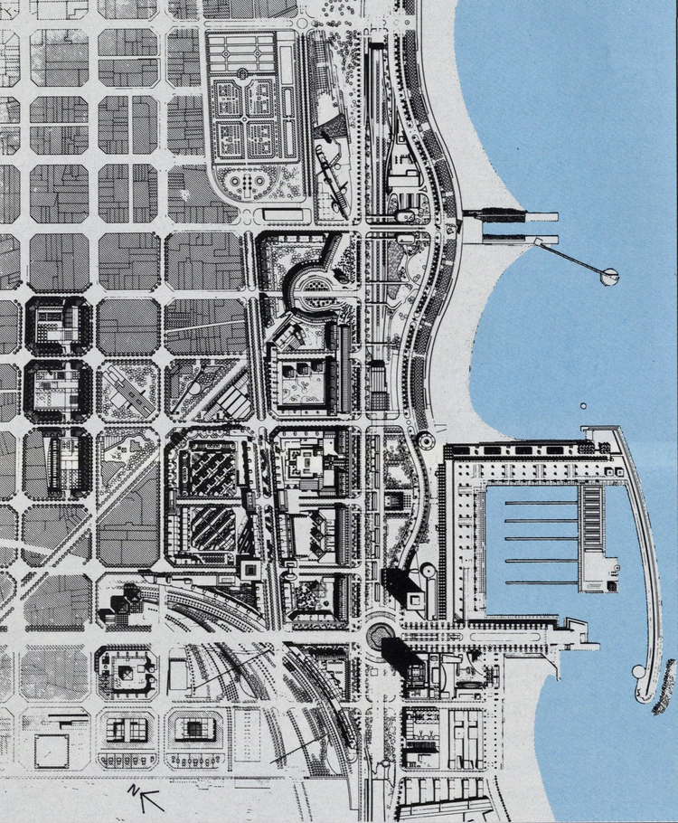 Plan of the Olympic Village