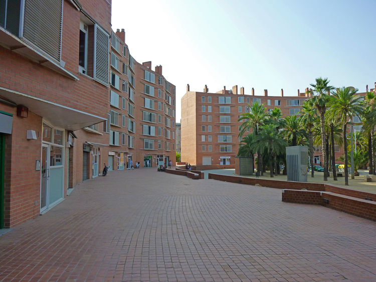 Apartment Buildings in the Village
