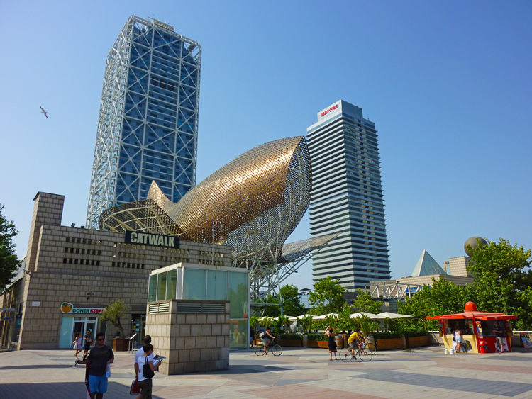 Frank Gehry's Fish Sclupture