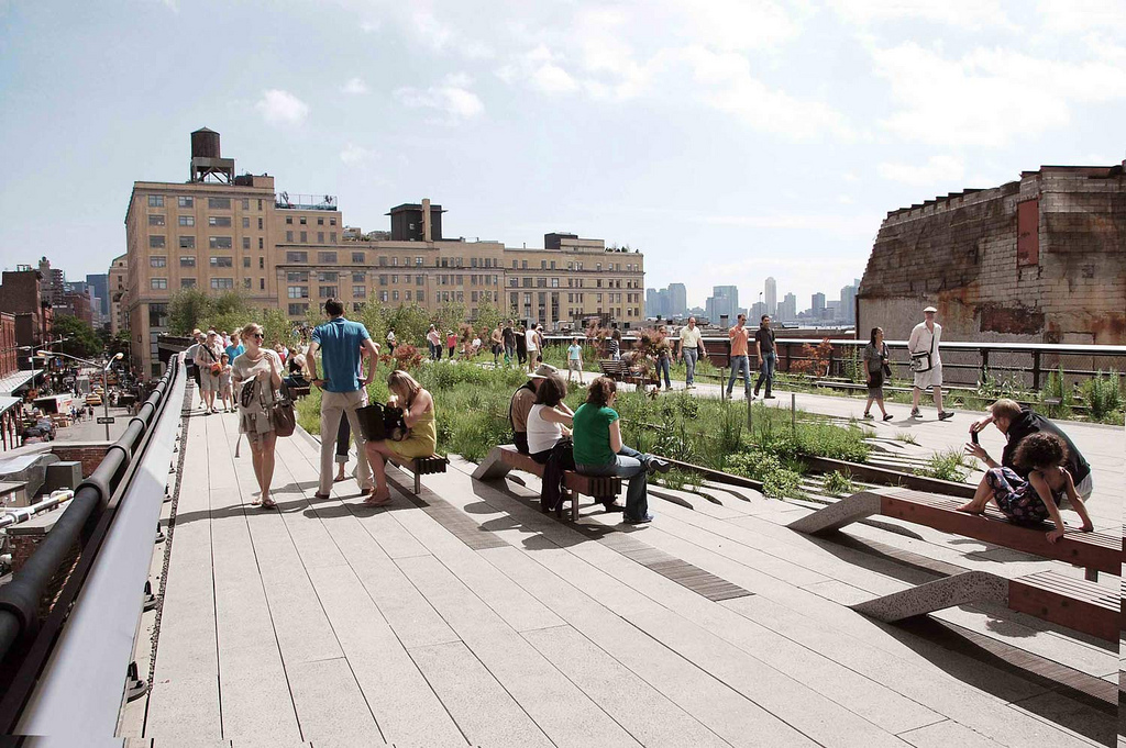 The High Line as Evoloving Public Space