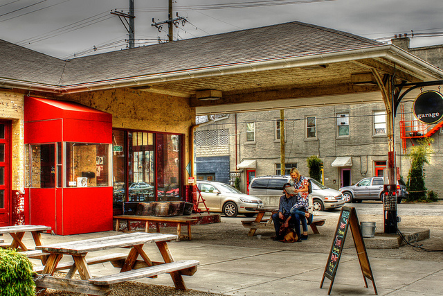 Multiple intersectingurbanities: Love @ The Garage Bar in Louisville, Kentucky. Source: LuAnn Snawder Photography via  Flickr and Creative Commons