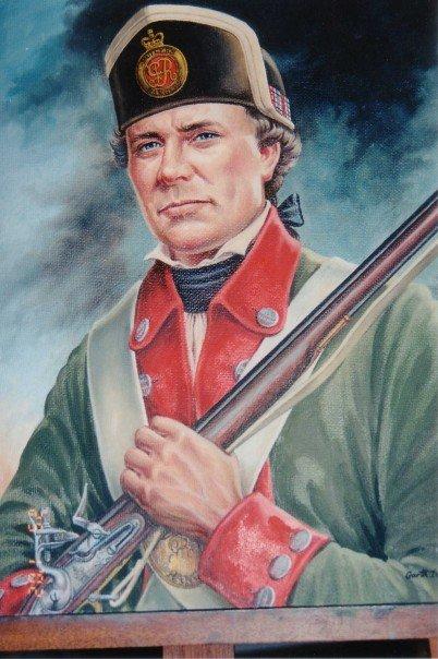 An interpretation of the Butler's Rangers uniform by G. Dittrick