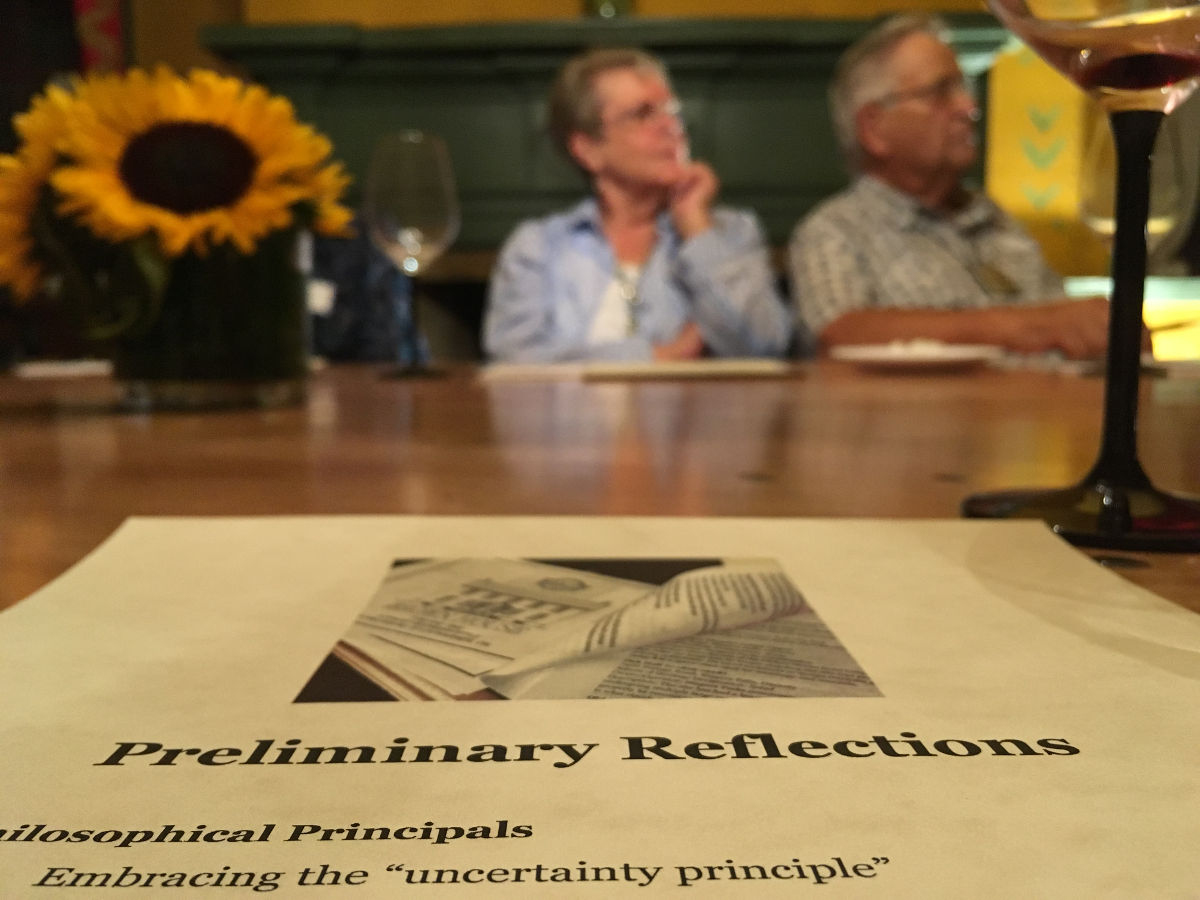 Community discussion at the John Brown House, August 2016.