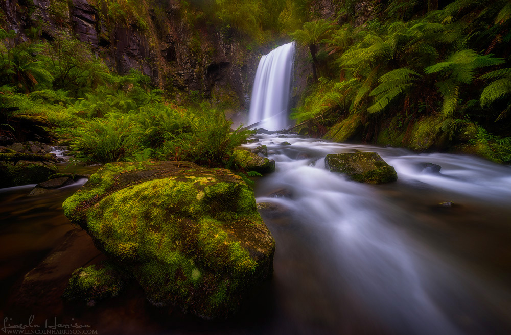 Hopetoun Falls, Otway National Park, Victoria.  I've shot this waterfall about 10 times, finally got the one I wanted.