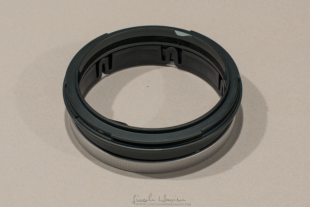 The G150Z mounting ring (to suit Nikkor 14-24)