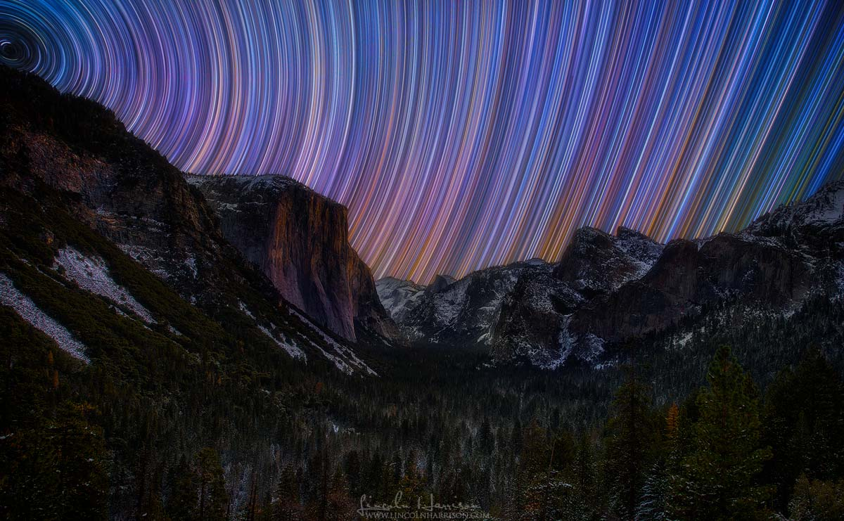 Yosemite Startrails