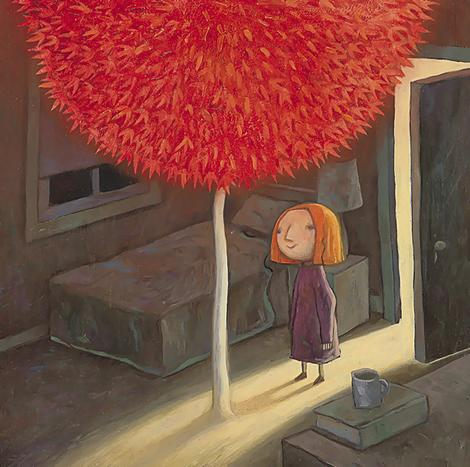Image from ' The Red Tree'  by Shaun Tan