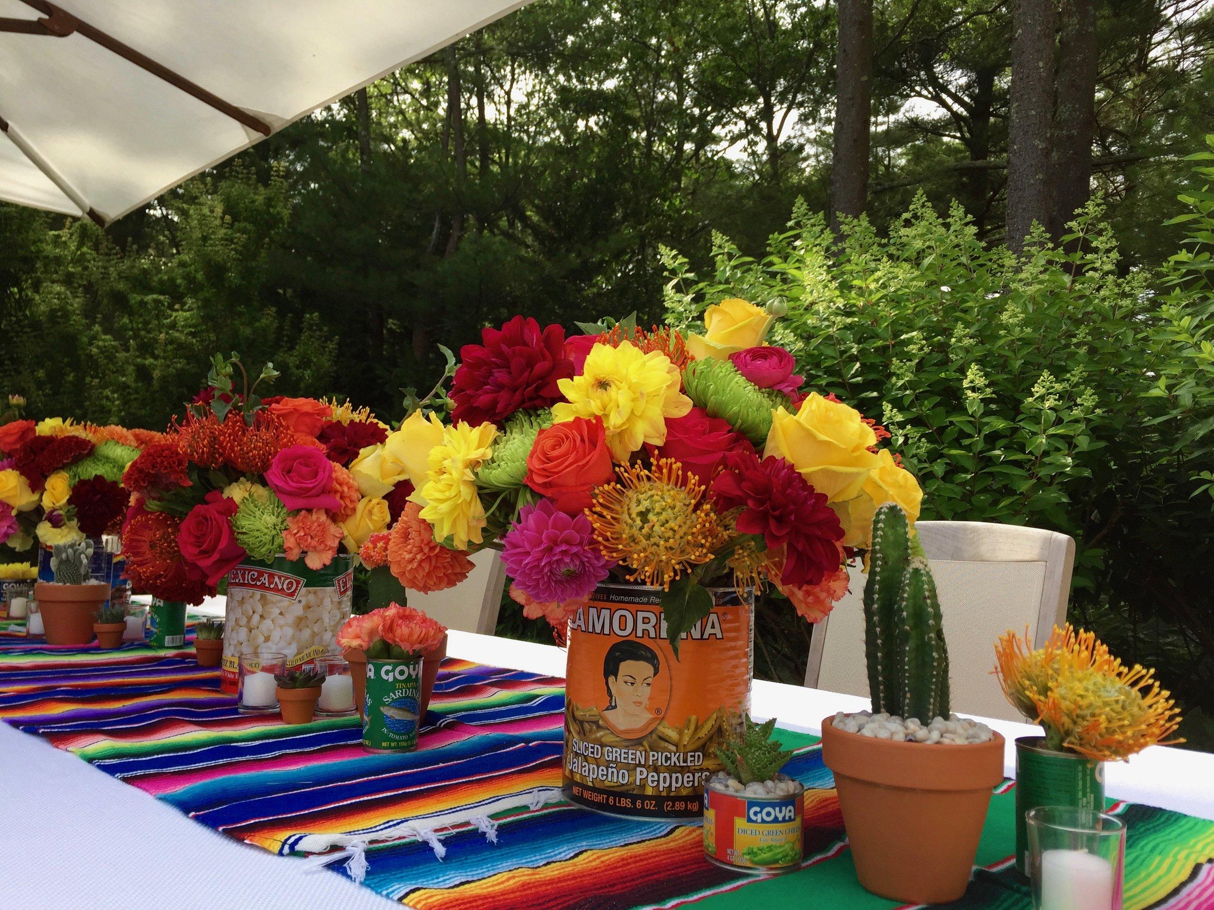 Backyard Fiesta Birthday Party
