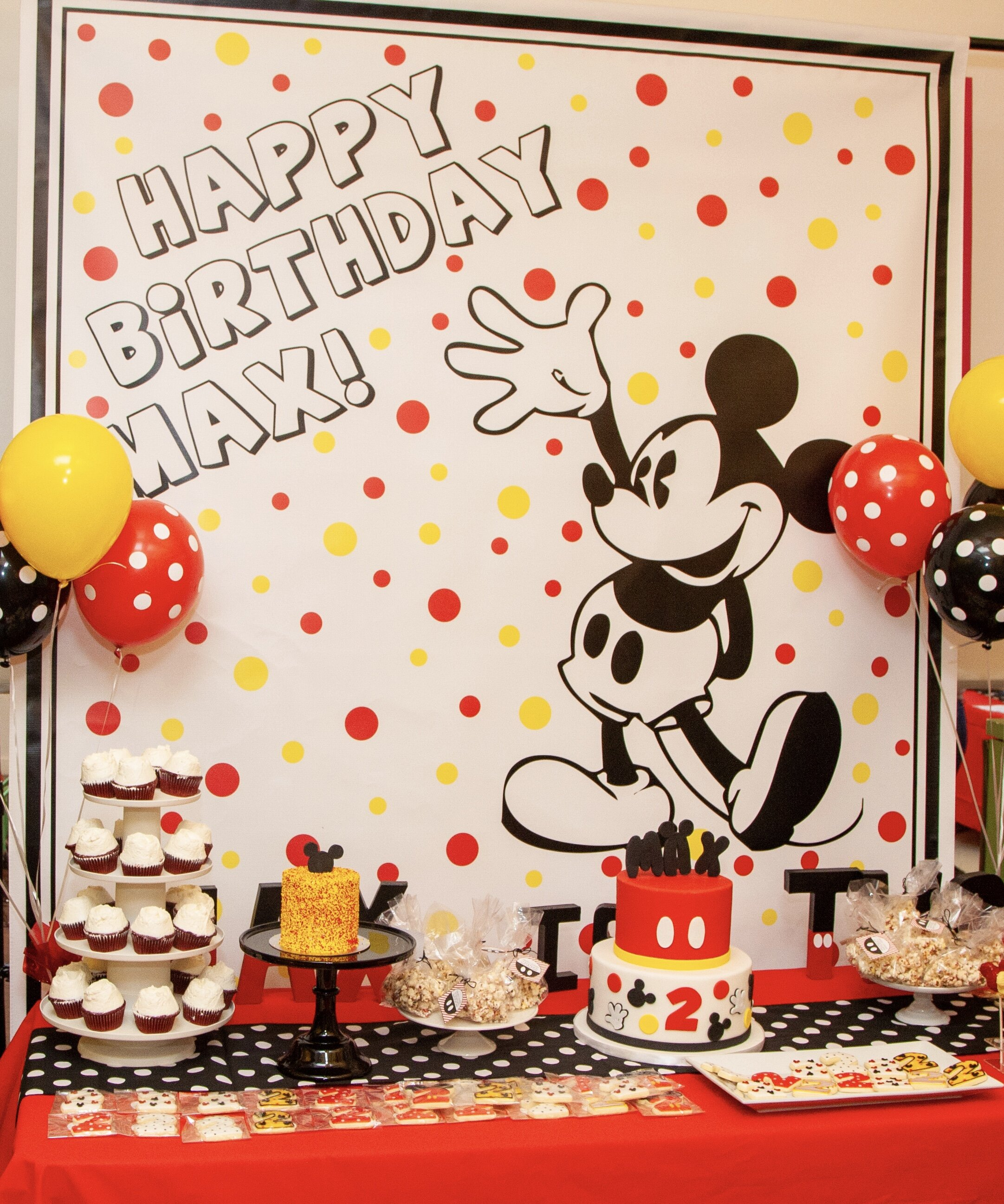 Max's Mickey Mouse Birthday