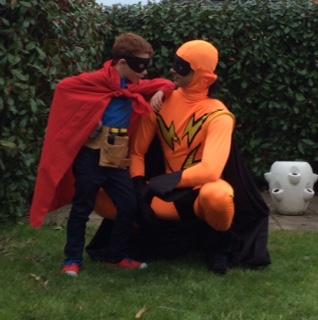 The Saviour of Dublin City, Super Hero role Directed by David Naughton, 2016