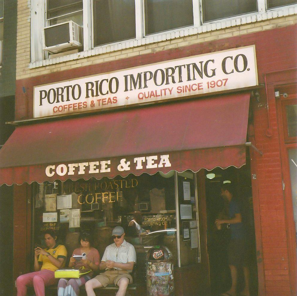 Porto Rico Coffee (best iced coffee I've ever had)