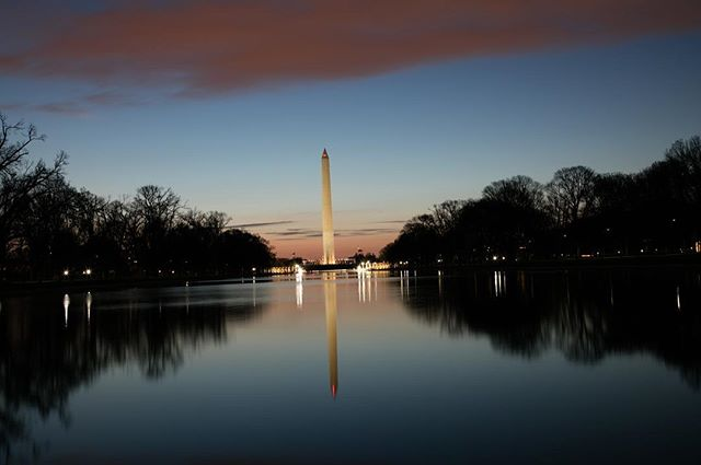 Last entry for the #makeitimpactful #contest that closes today. Sunrise at the reflecting pool. (BEFORE)