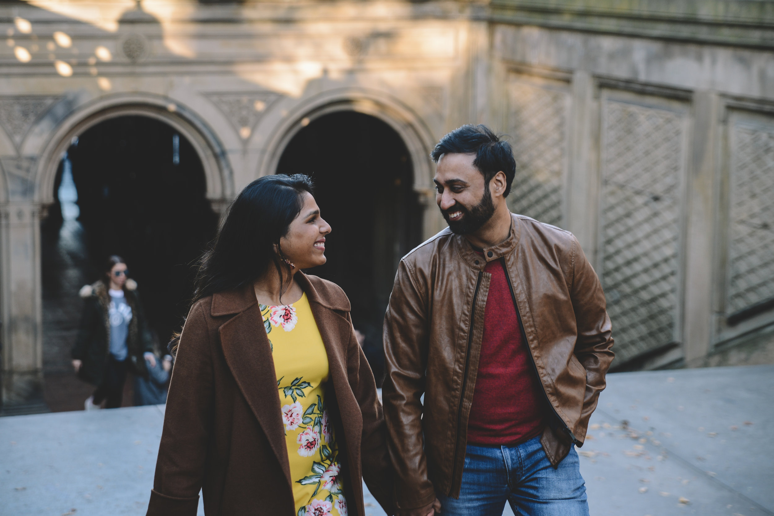 Rahul x Pooja x Central Park, New York