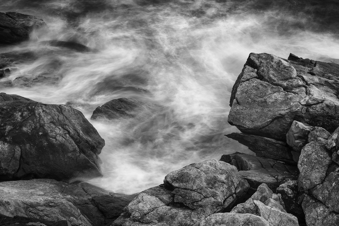 Turbulent Water, Hammonasset Beach State Park, Madison, Connecticut