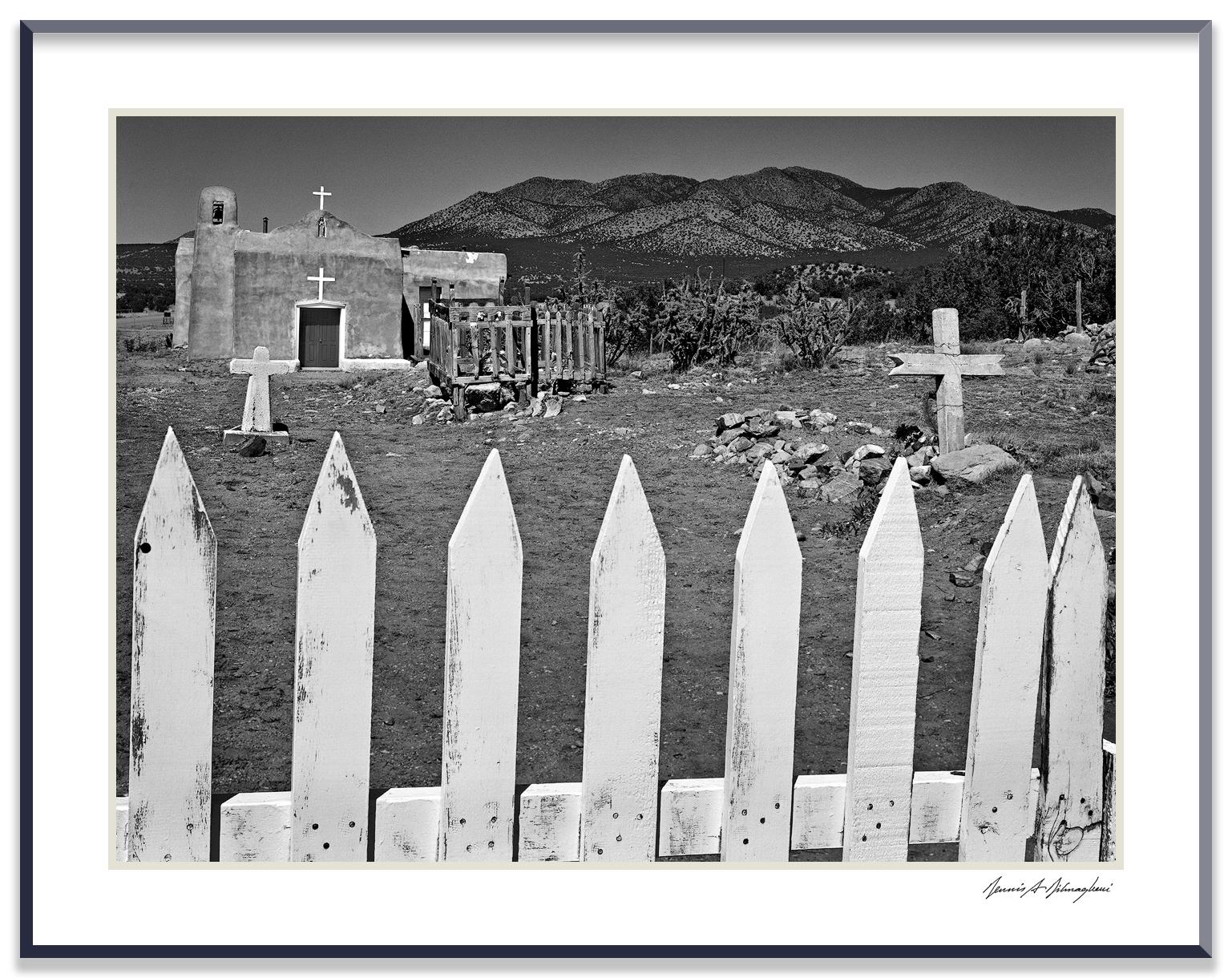 San Francisco Church - Golden, New Mexico
