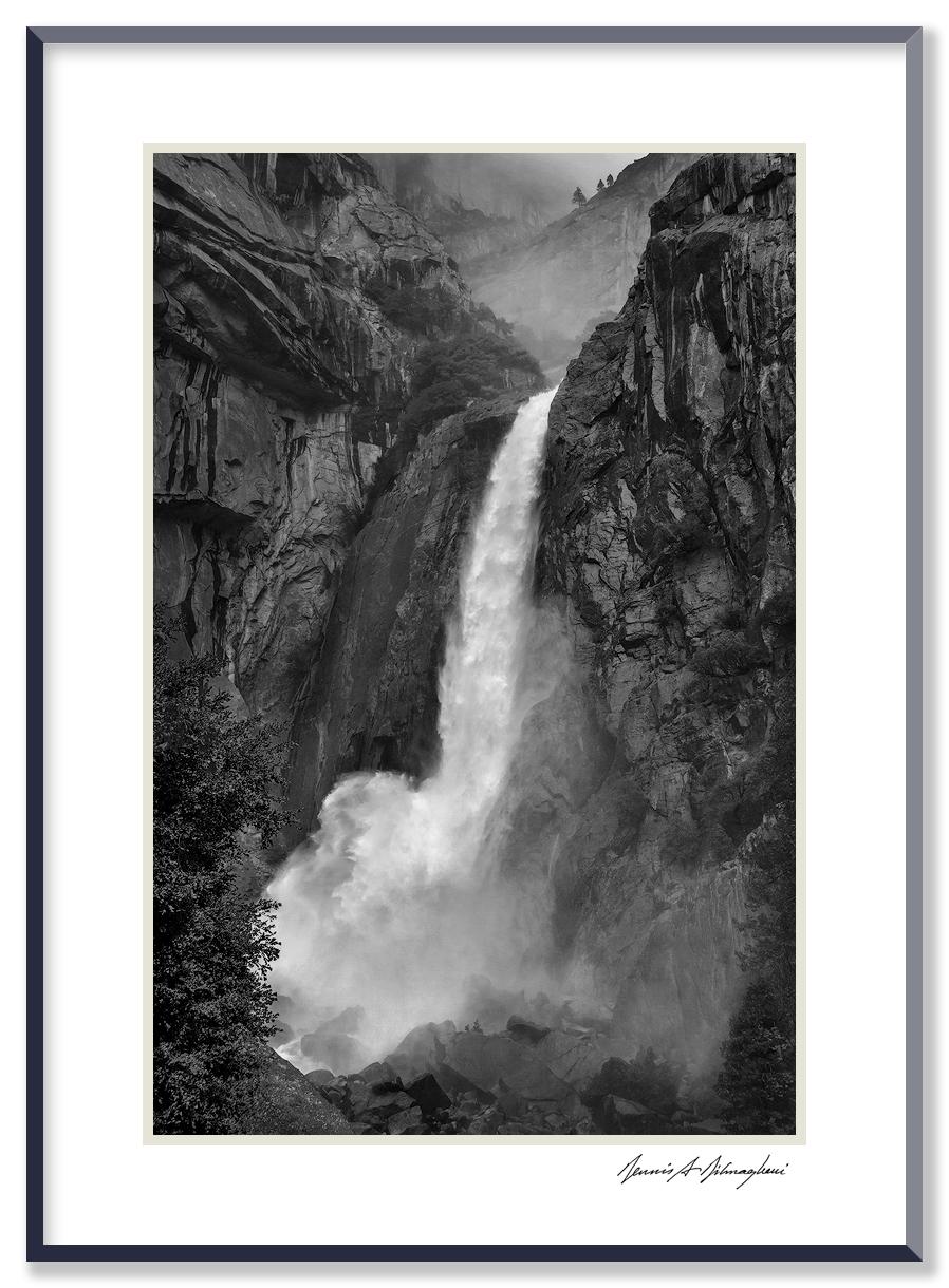 Yosemite Falls - Yosemite National Park - California   Made in the midst of a heavy rainstorm  .