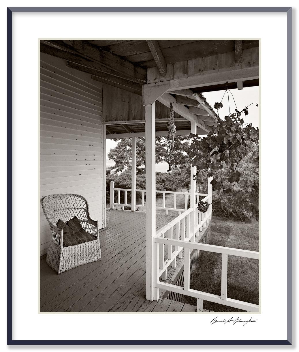 Side Porch, House - Cranberry Island, Maine