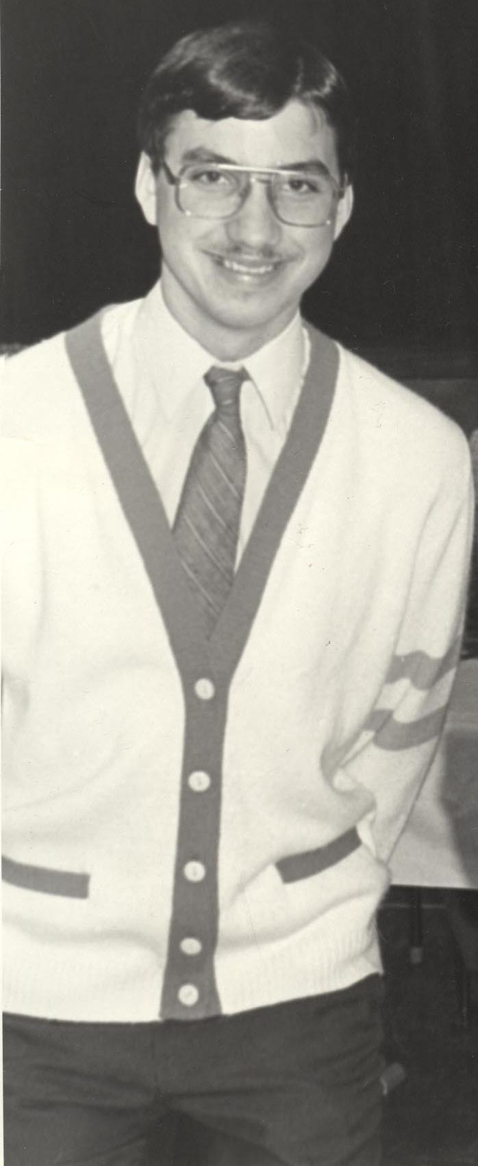 Tom, circa 1984ish.