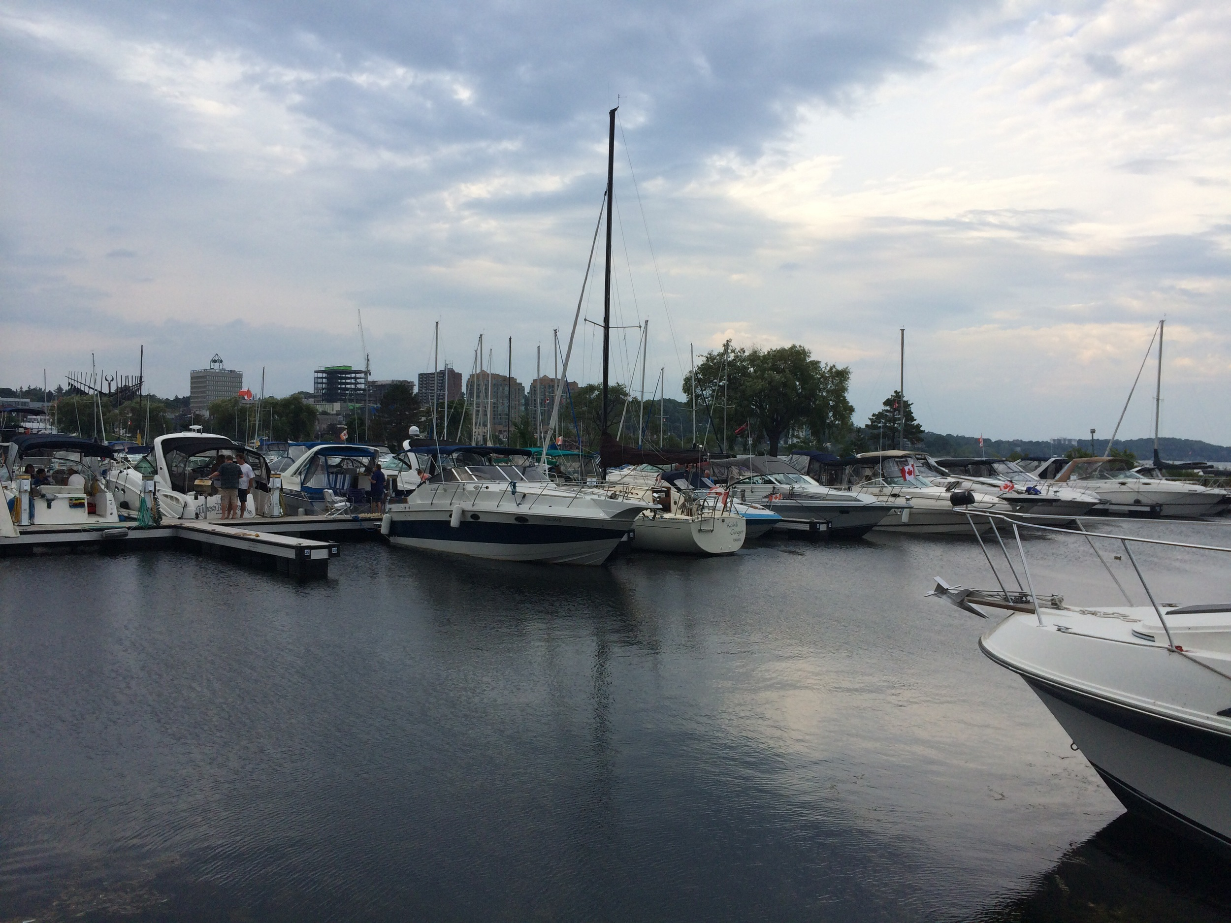 Pictures from downtown Barrie will vary.