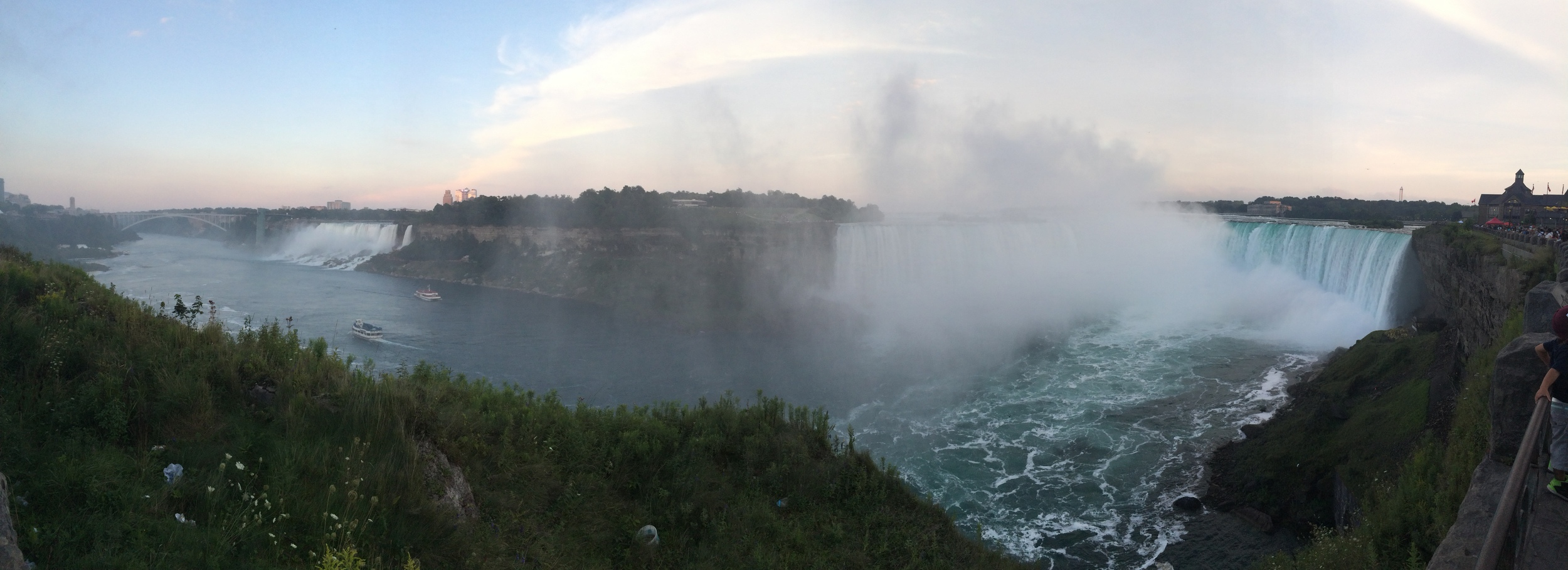Pictures from down the Falls will most definitely vary.
