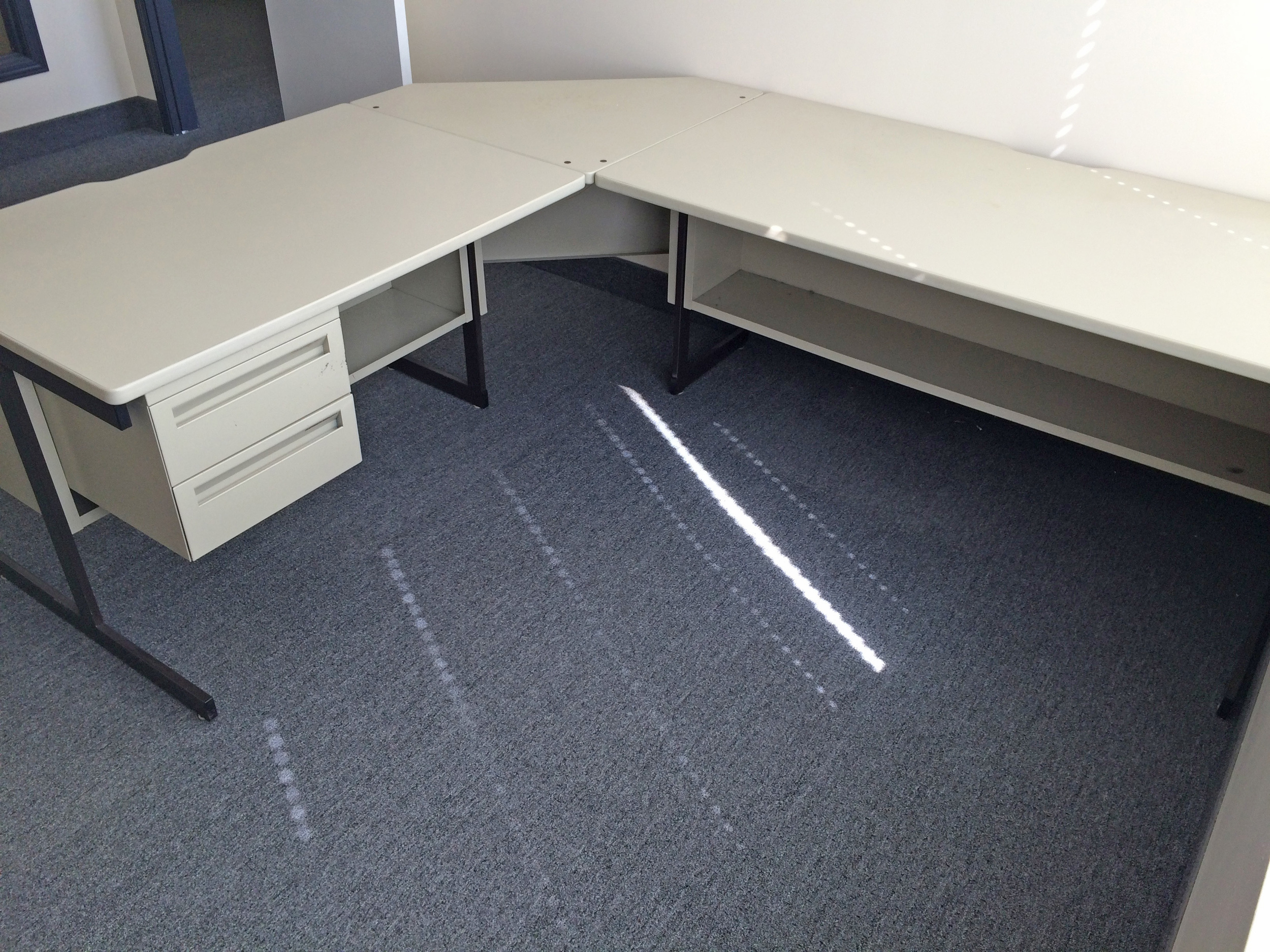 The desk of emptiness.