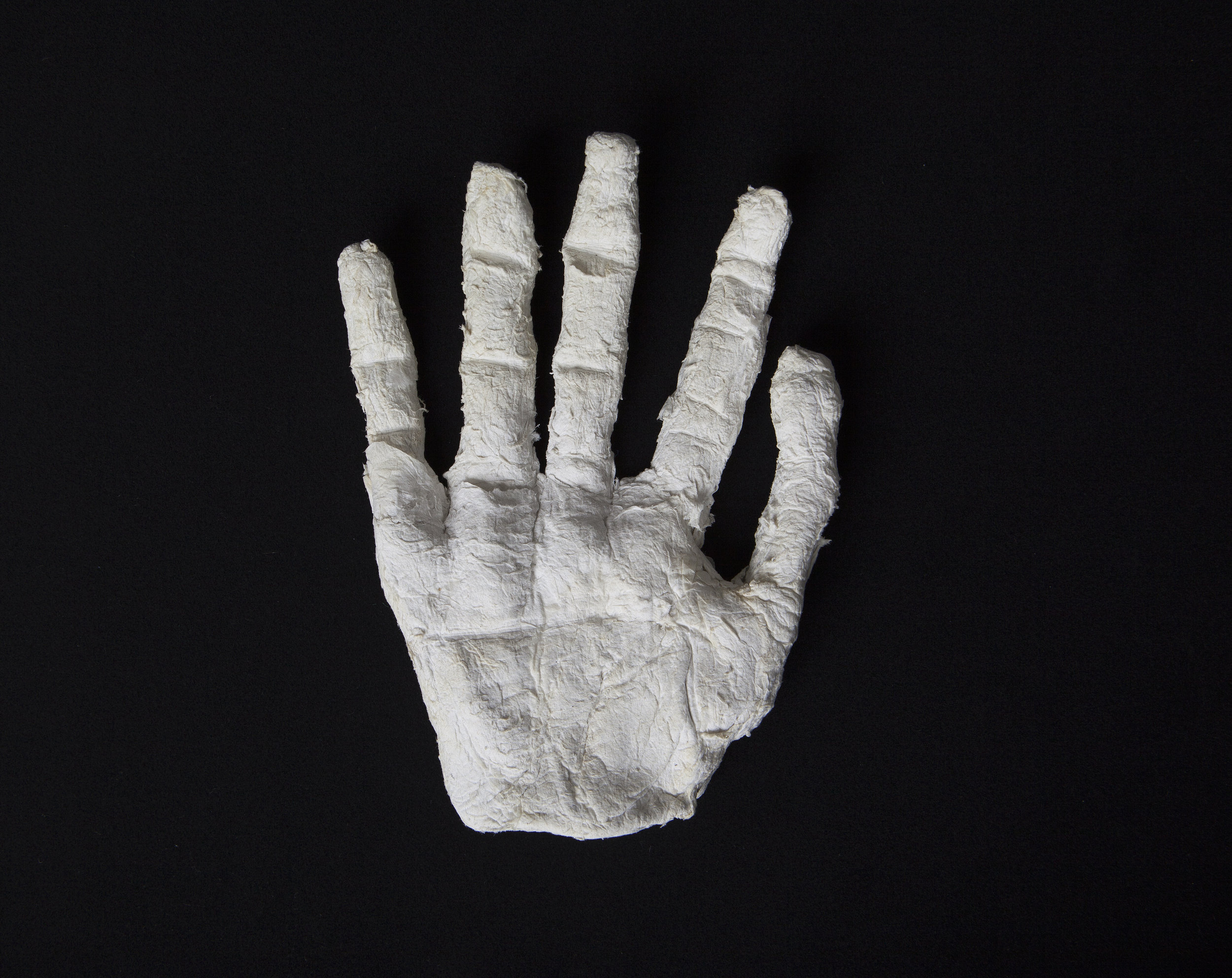 A life-sized hand was confiscated because a Correction Officer thought Shane was making an escape dummy.