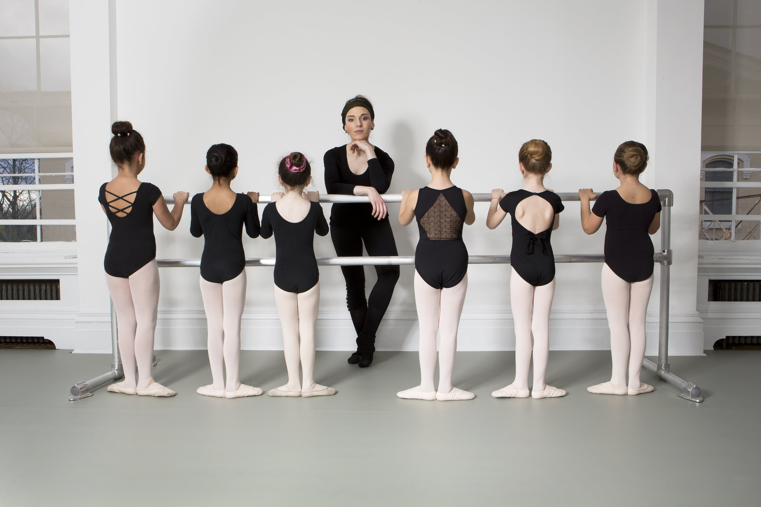 Ana Lejava and students-Dancer